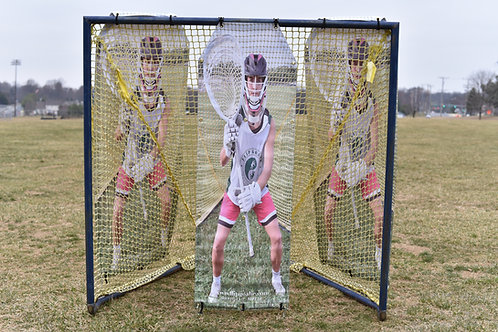 2.0 Girls Lacrosse Target: 1 panel