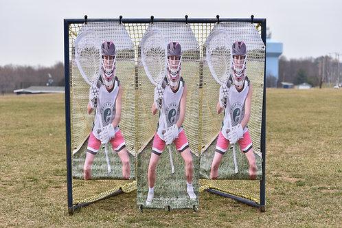 2.0 Girls Lacrosse Target: 3 panels - FREE shipping