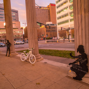 Denver Honors Victims of Traffic Crashes with Candlelight Vigil and Art Installation