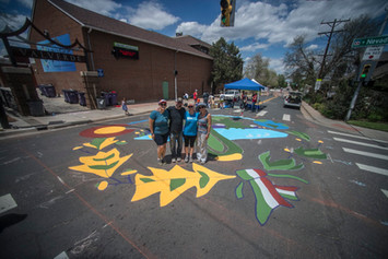 Valverde Elem Intersection Mural