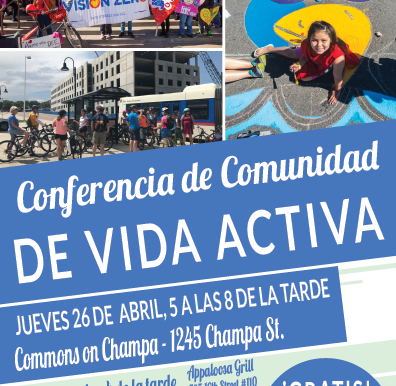 Oradores Para Conferencia de Comunidad  de Vida Activa