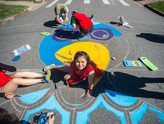 Trevista Elem Intersection Mural