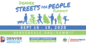 Locally Hosted, Globally Inspired, Virtual Conversations at Denver Streets For People Summit 2020
