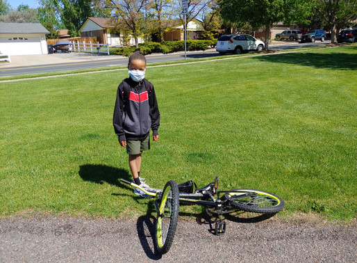Riding in the Winds of COVID-19: Community-led Bike Rides