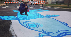 Eyes on the Street: New Intersection Mural at Castro Elementary School in Westwood