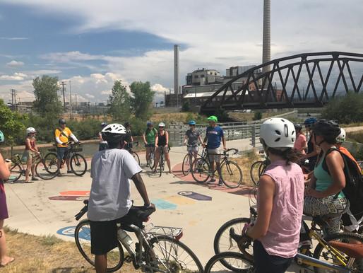 Wayfinding Community Bike Tour
