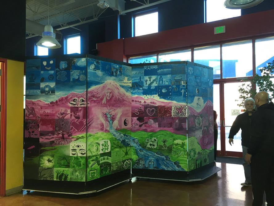 Community Mural at La Alma Rec Center