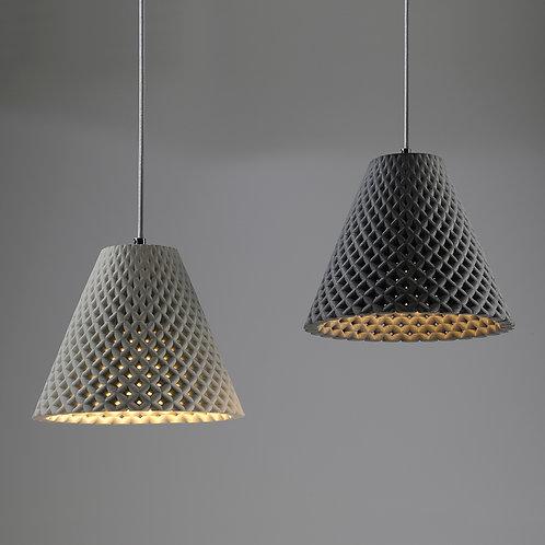 HELIA concrete pendant lamp
