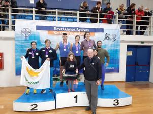 Επιτυχημένη Παρουσία Εθνικής Ομάδας Κωπηλάσιας  στον 3ον Πανελλήνιο Αγώνα Κλειστής Κωπηλασίας με δύο