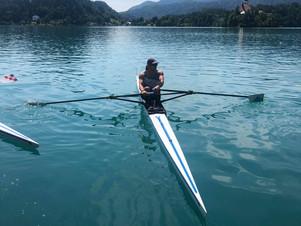 Ο Ρεαρ Νικήτα στη 65η Διεθνή Ρεγγάτα «2021 Bled International Regatta» στο Μπλέντ  της Σλοβενίας