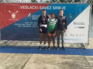 Με Χρυσό  η Συμμετοχή  της Εθνικής Ομάδας Κωπηλασίας στο Εθνικό Κύπελλο Κωπηλασίας της Σερβίας