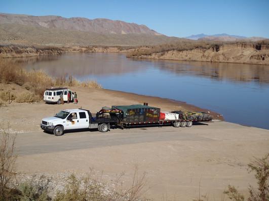 Truck & Trailer with Van