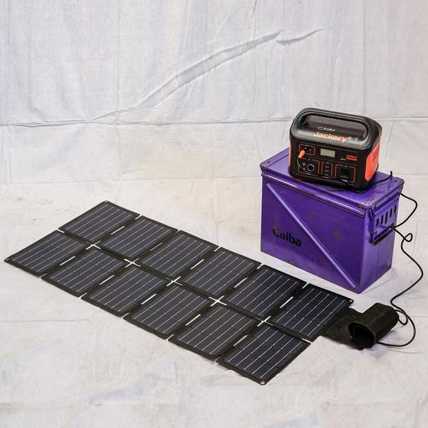 Jackery Power Station w/ Solar Panel