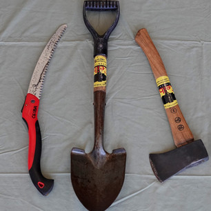 Saw, Axe and Shovel