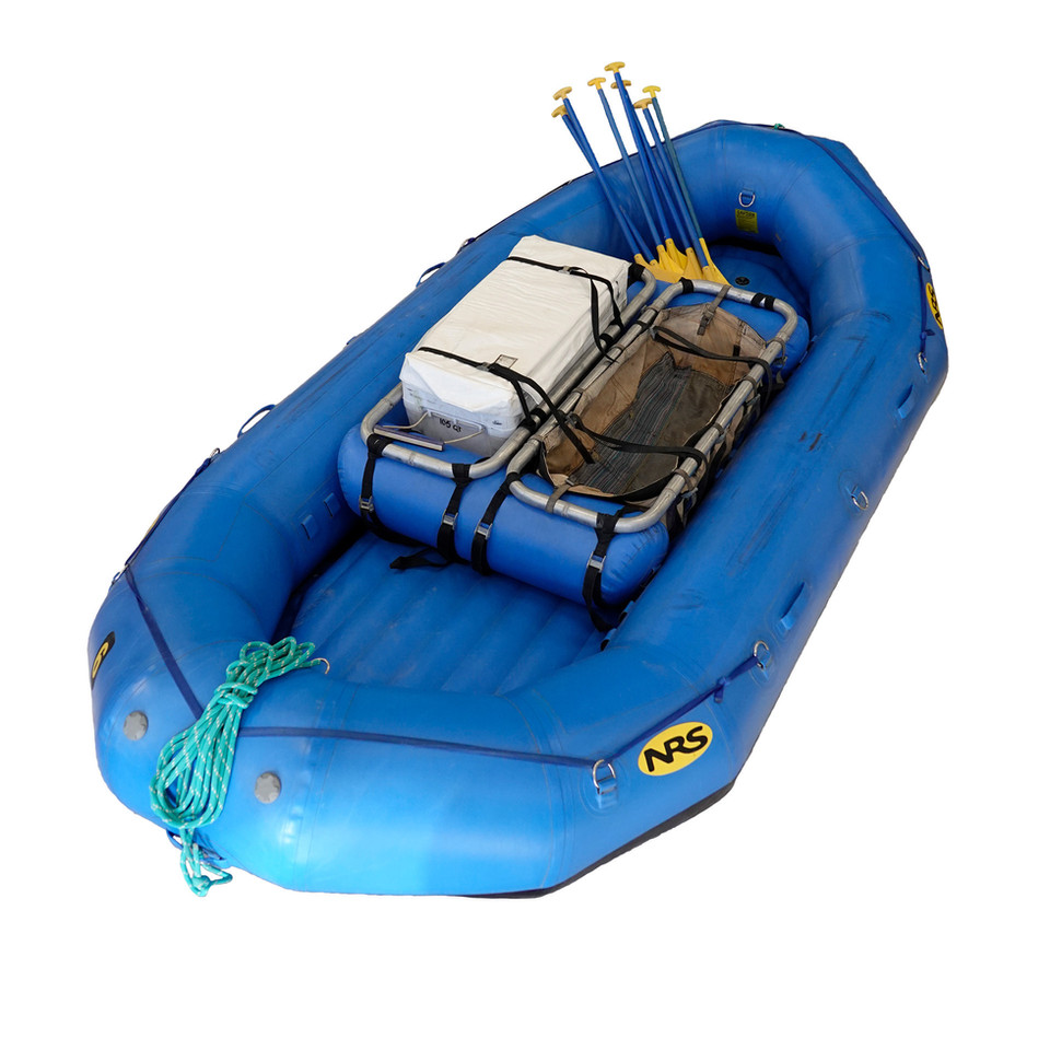 14' Paddle Boat with dual Ceiba hoop frames