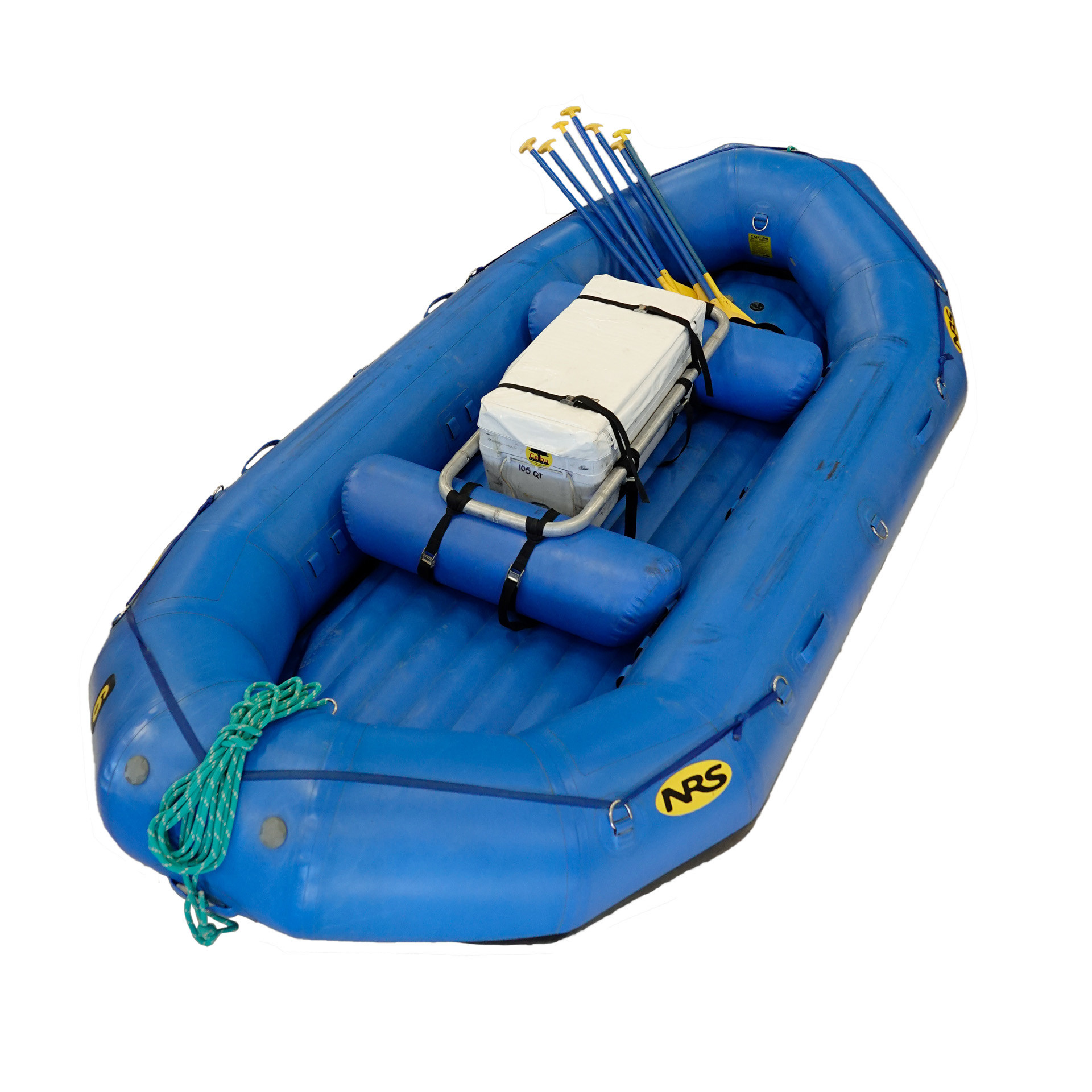 14' Paddle Boat with Cooler