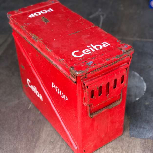 Red Deposit Box