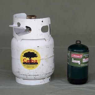 5lb or 1lb propane tanks