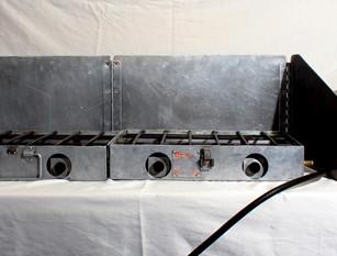 Stove with Blaster & Regulator