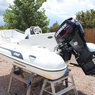 15′ Ocean Sport Boat Repair