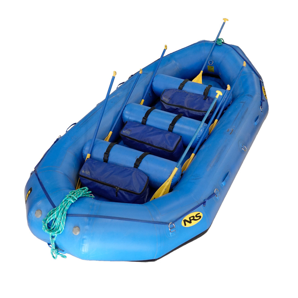 14' Paddle Boat with Thwart Bags