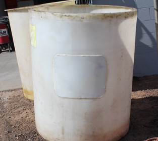 Antifreeze Tank – Repaired large puncture in tank