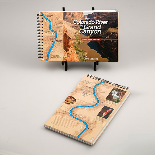 The Colorado River in Grand Canyon River Map & Guide