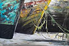 Isabelle Moulis Artiste Peintre La Rochelle Cimetiere de Bateaux