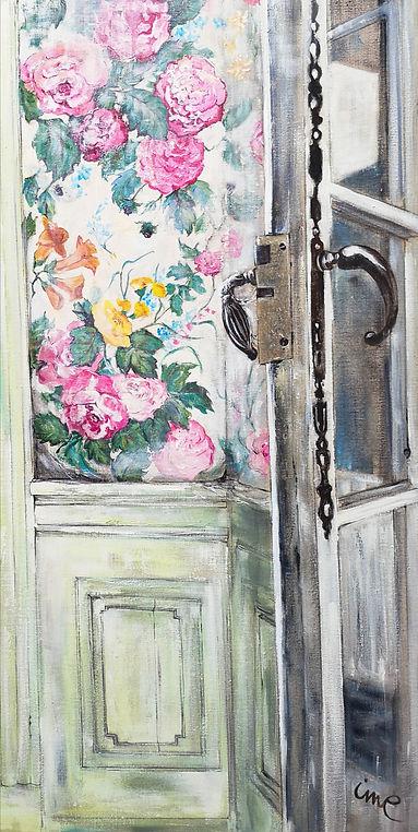 Isabelle Moulis Artiste Peintre La Rochelle Tapisserie à fleurs