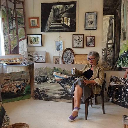 Isabelle Moulis Artiste Peintre La Rochelle