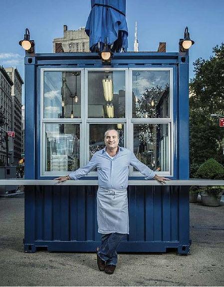 Chef Owner Philippe Massoud at ilili BOX Flatiron