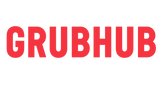 GrubHub Logo. It's a link that goes to GrubHub website to place a delivery order.
