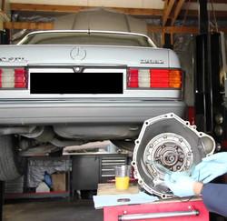 Auto gear repair