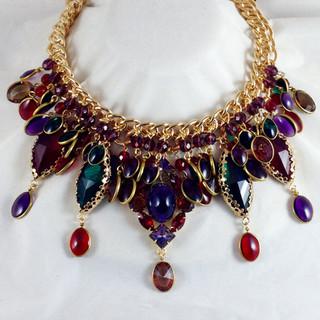 Jewel Tone Necklace - $350