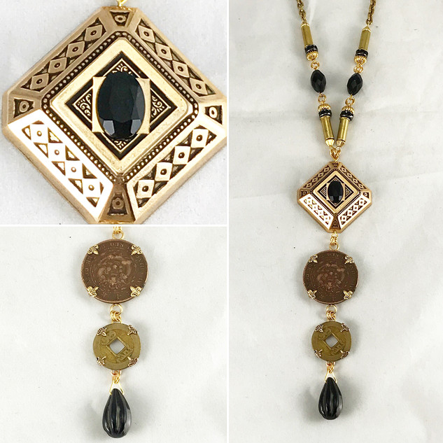 Vintage Coin Necklace - $120