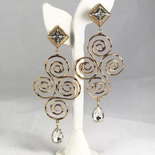 Spirale Earrings - $120