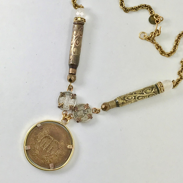 Vintage San Marino Medallion - $180