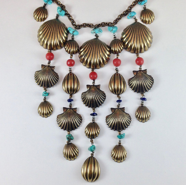 Conchiglia Necklace - $250