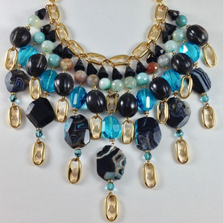 Agata Necklace - $300