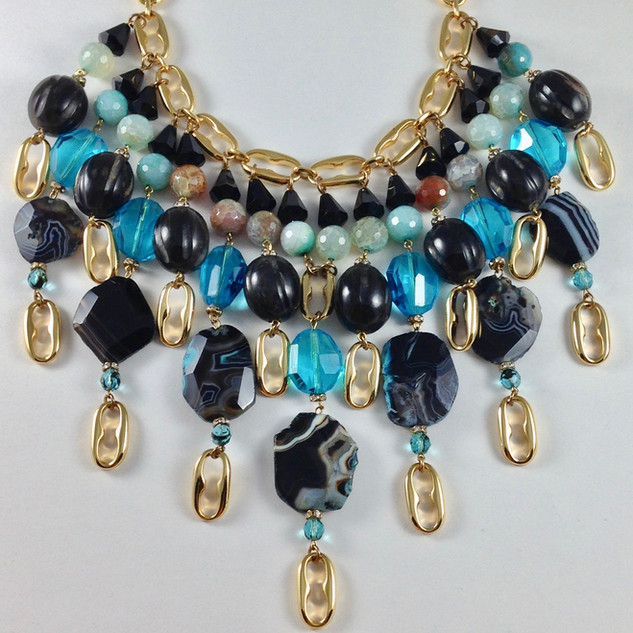 Agata Necklace - $300