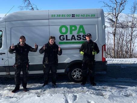 Arbeidsuke i OPA Glass