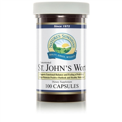 St. John's Wort Concentrate (100 Caps)