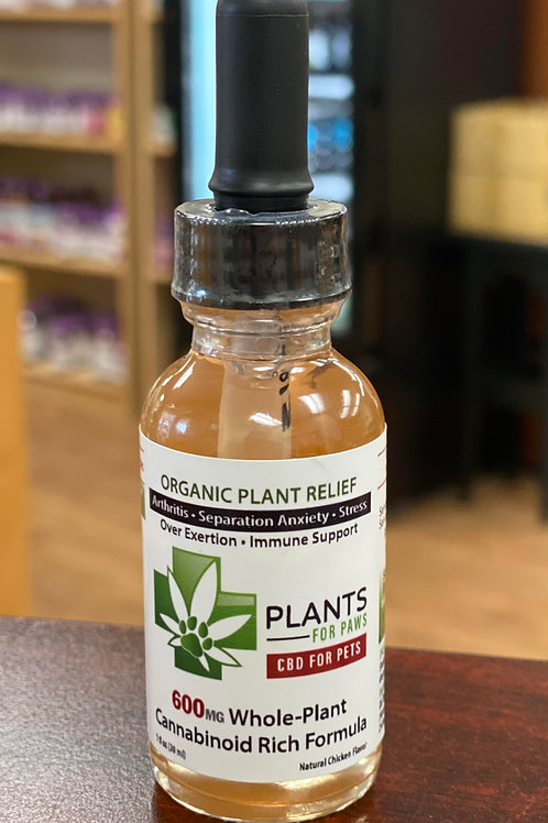 Plants for Paws (CBD for Pets)