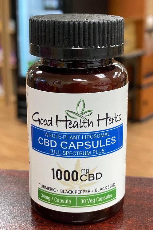 Good Health Herbs 1000mg CBD Capsules