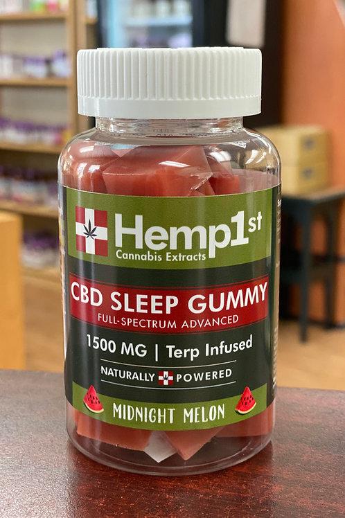 Hemp 1st 1500mg Sleep Gummy (50mg each)