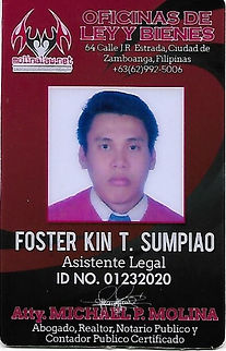 Foster Kin T. Sumpiao