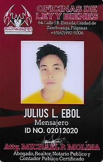 Julius L. Ebol