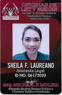 Sheila F. Laureano