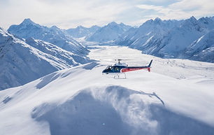 The-Helicopter-Line-Mount-Cook-Snow-Land