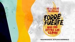 TORRE FUERTE: Uno más entre las llamas